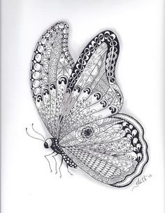 zentangle pictures for kids room - Google Search