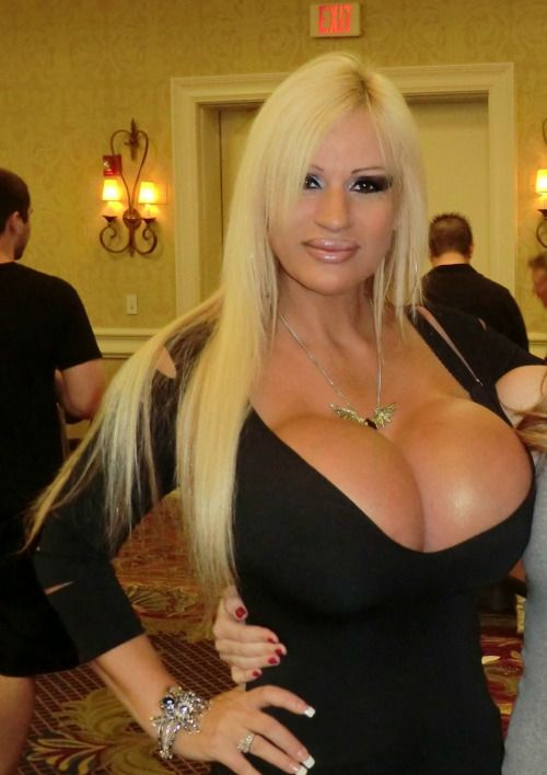 Hot blonde tits plastic