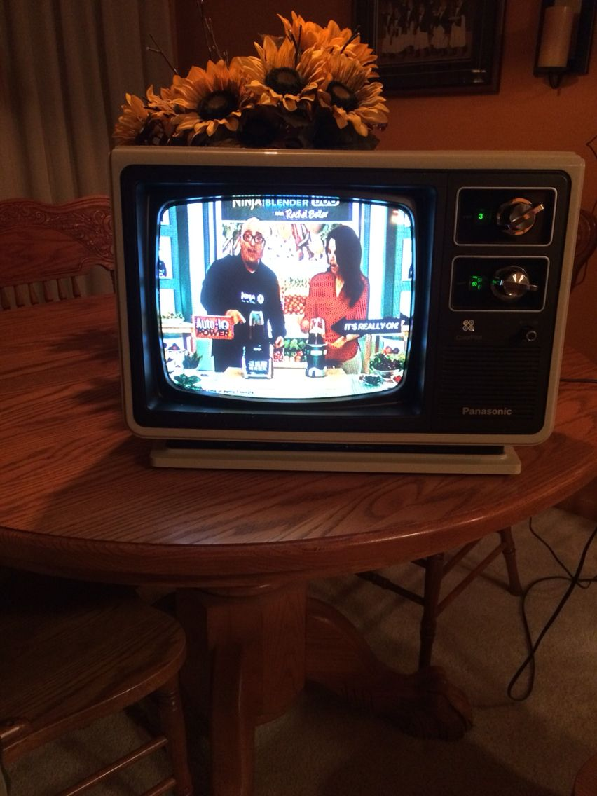 1970s Portable Tv Set - Year of Clean Water