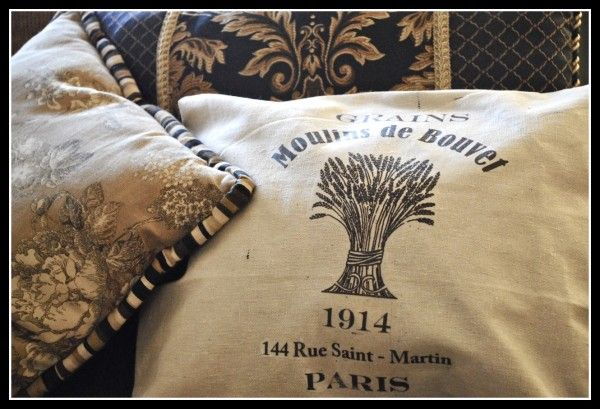 I love that she used my graphic on this pillow. It looks great!