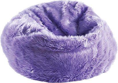 La Would Love This Bean Bag Chair Fuzzy Bean Bag Chair Purple Bean Bags Bag Chair