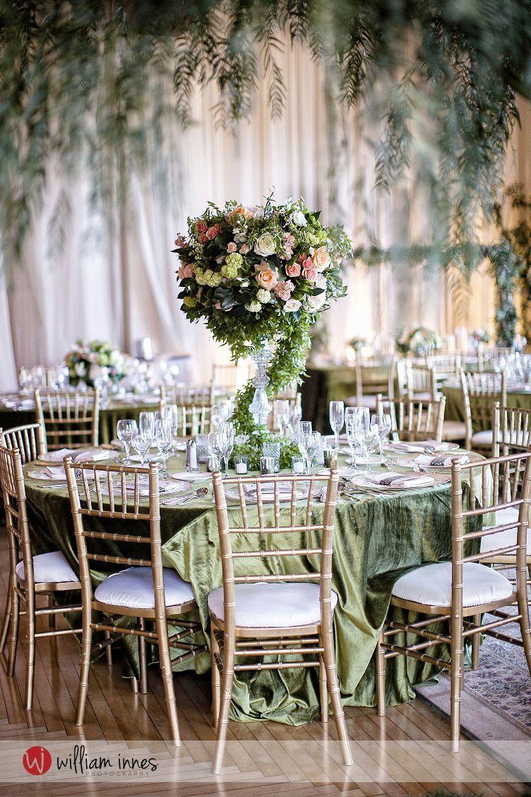 Talya and Leonard had an enchanted forest themed wedding