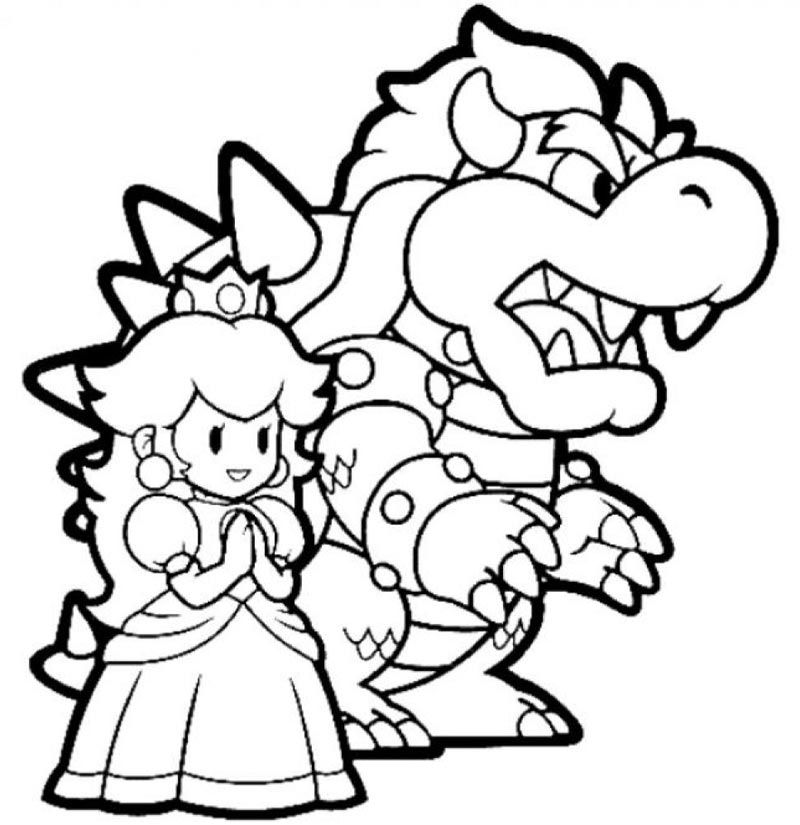 Related Image Mario Bros Mario Coloring Pages Artwork