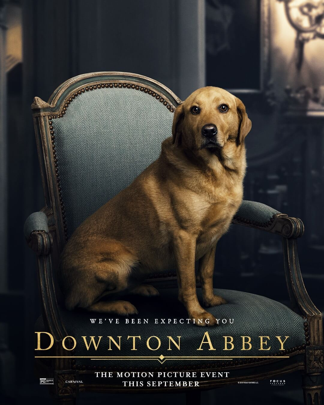 Downton abbey celebrates international dog day with 2