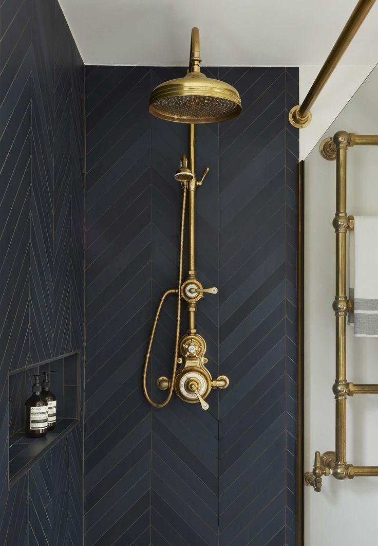 Stilvolle Badezimmer-Umbauideen, die Sie lieben werden – #BadezimmerUmbauideen #…