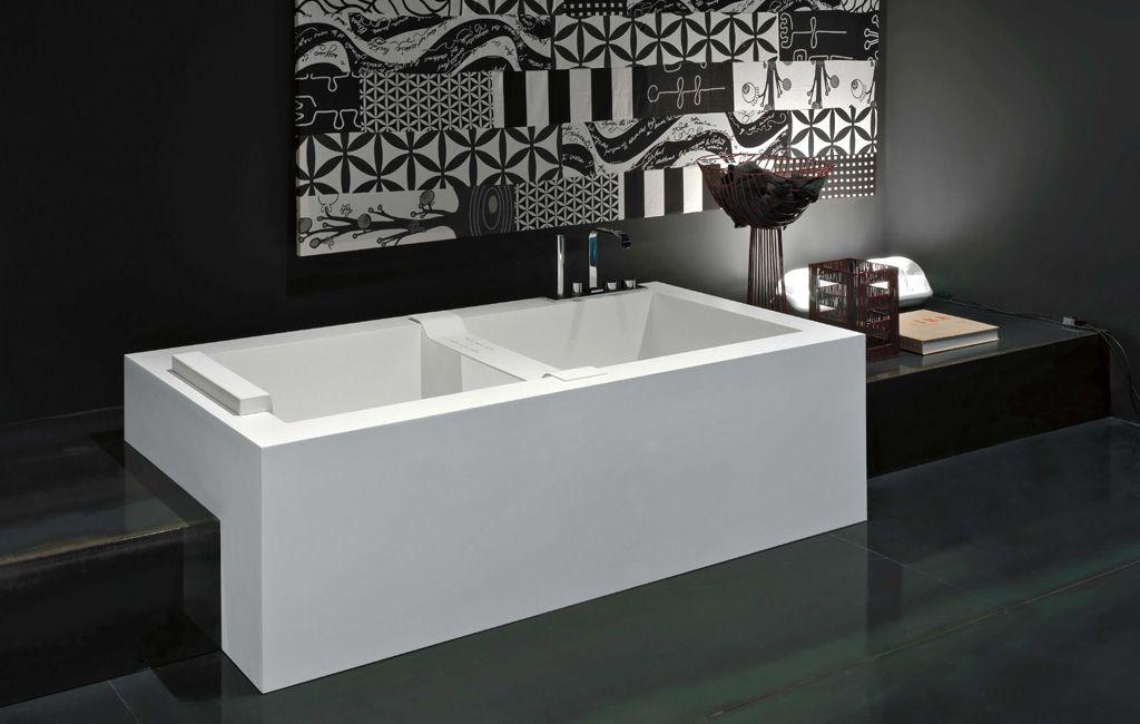 Tubs biblio antonio lupi arredamento e accessori da bagno wc arredamento corian ceramica - Decor italy vasca ...