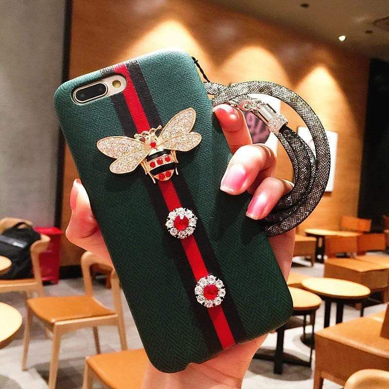 3d bee phone case for iphone in 2020 iphone leather case