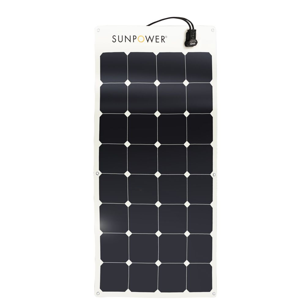 Sunpower Flexible 100w Solar Panel Flexible Solar Panels Solar Panels Monocrystalline Solar Panels