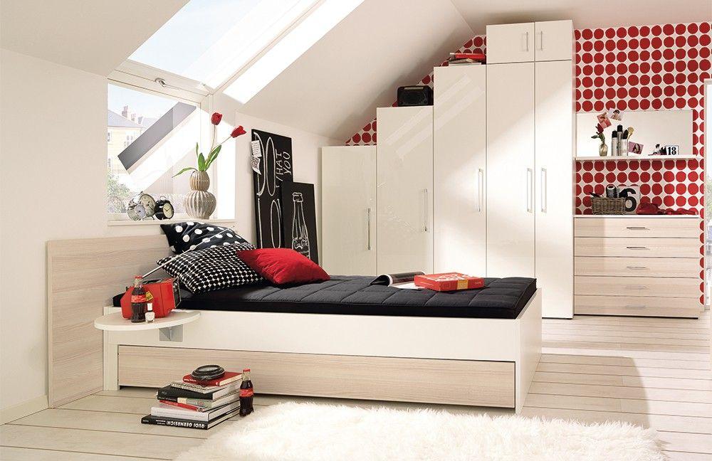Jugendzimmer mädchen modern dachschräge  modernes Jugendzimmer JW | Dein Schrank passt nicht in dein Zimmer ...