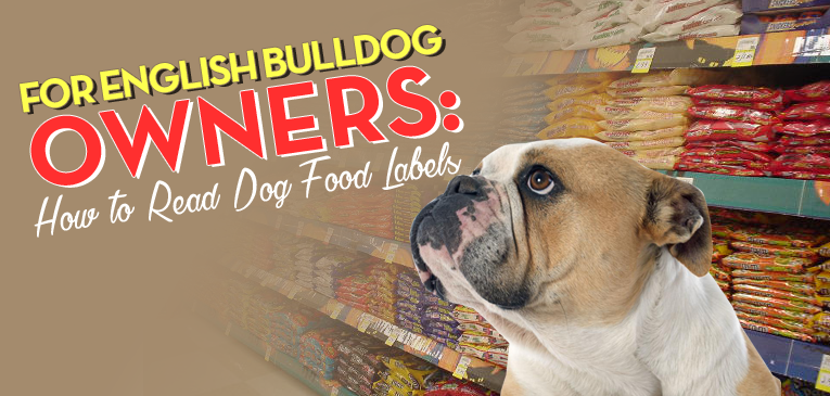 For English Bulldog Owners How To Read Dog Food Labels