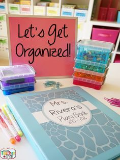 Classroom organization is important! My teacher binder helps me stay organized all year. Here are some of my favorite tips and ideas for putting together the best teacher binder or teacher planner. (I can't live without #5)