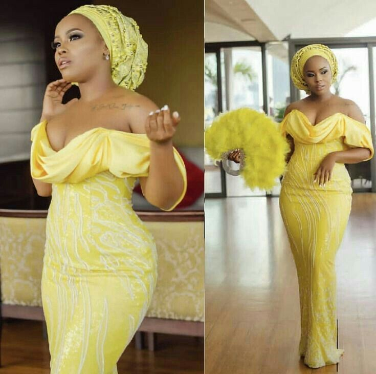 Top Classic Asoebi Styles For Wedding Guest #nigeriandressstyles