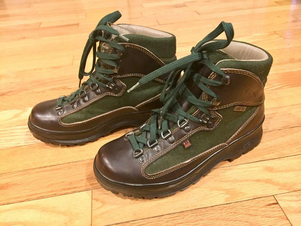 7c6bd826bb3 LL Bean Air 8000 Gore-Tex Cresta Brown Leather Hiking Boots Size 7.5 ...