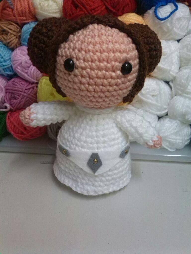 princesa Leia | Ganchillo | Pinterest | Ganchillo
