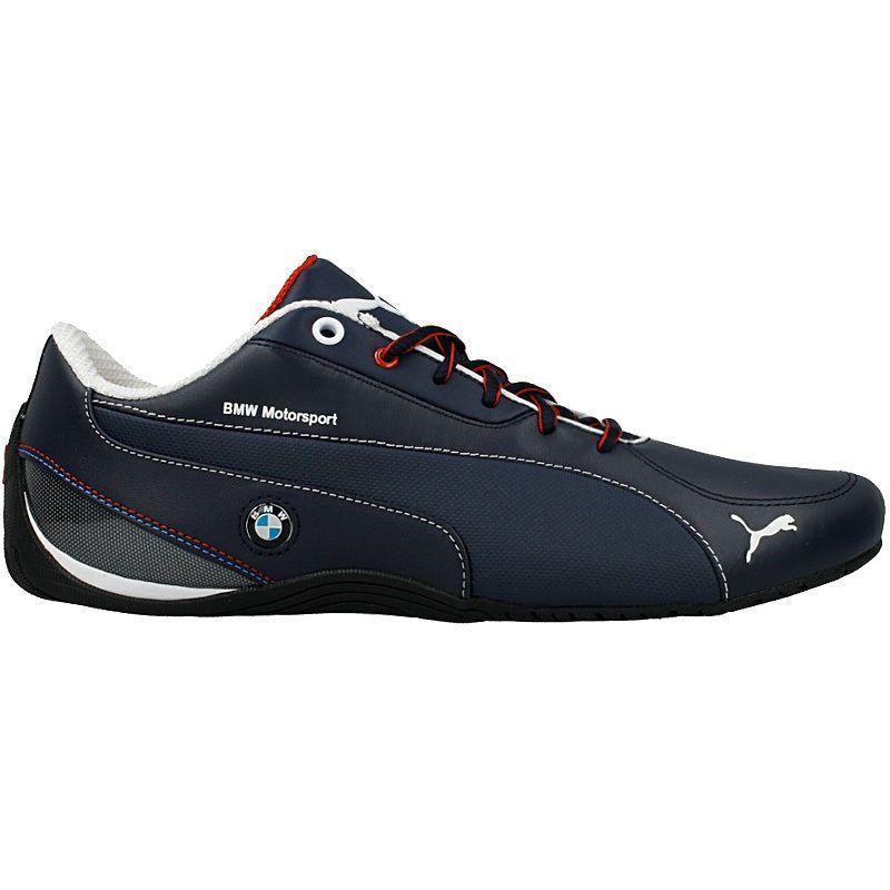 Puma Uomo Driving Scarpe Bmw Future Cat M1 Nm Navy Blu