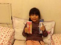 Panasonic 國際牌兒童音波電動牙刷 EW-DS32【粉紅】,得標價格6元,最後贏家明湖老: 用電動牙刷刷牙有按摩牙齒感覺,真棒