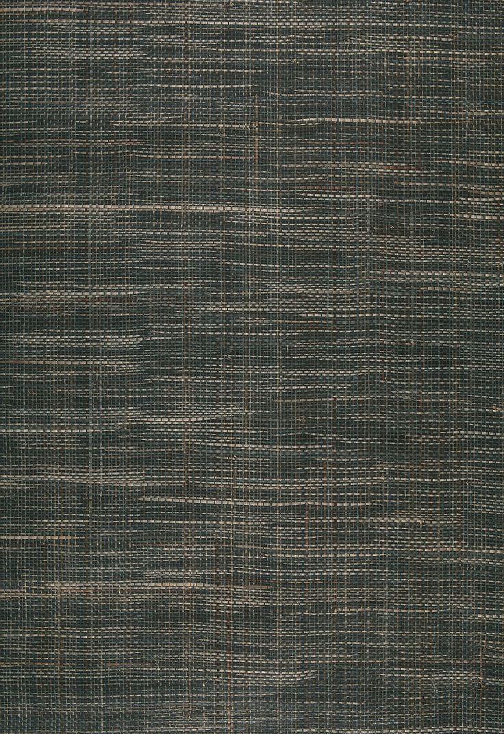 office Wallcovering / Wallpaper Pondera Weave in Denim