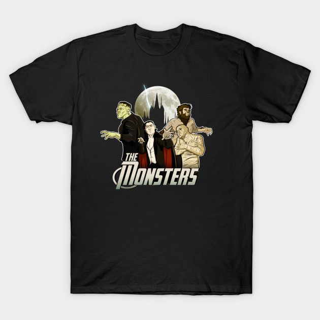Monsters T-Shirt - Horror Movie T-Shirt is $14 today at TeePublic!