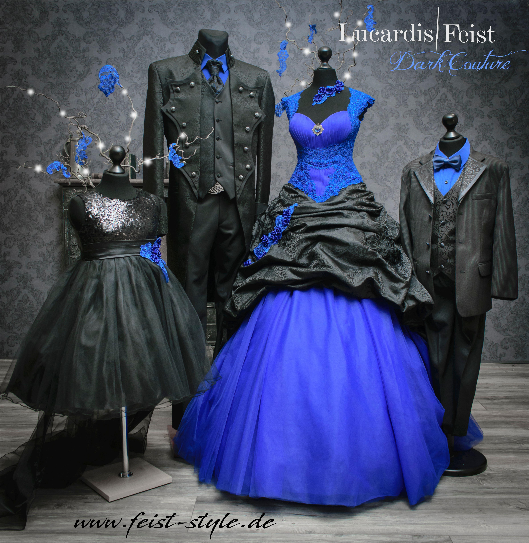 Extravagante Hochzeitsmode Schwarzes Brautkleid Brautmode Kleider Hochzeit