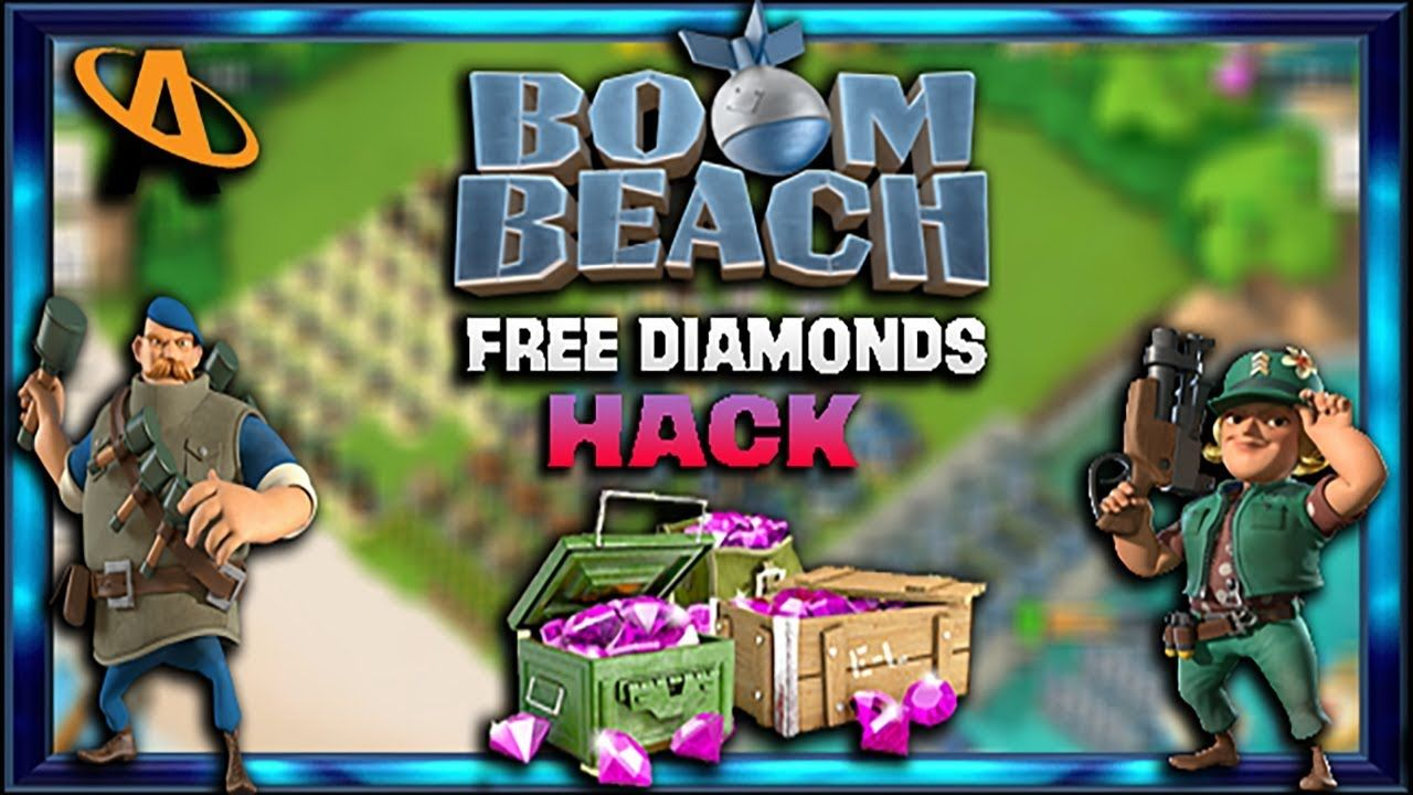 how to get unlimited gems in boom beach