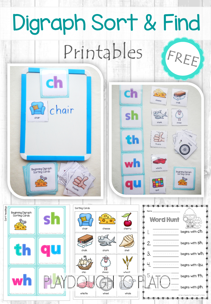 free digraph sort and find learning games digraphs worksheets first grade phonics phonics. Black Bedroom Furniture Sets. Home Design Ideas