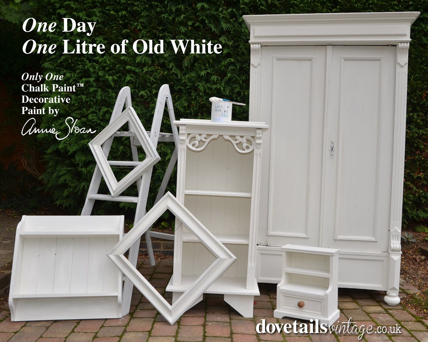 antique white chalk paintHave questions about chalk paint and the wax Here are some