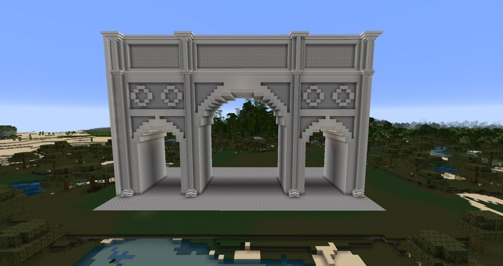 Greek Architecture Minecraft minecraft wall design | minecraft heroes! | pinterest | minecraft