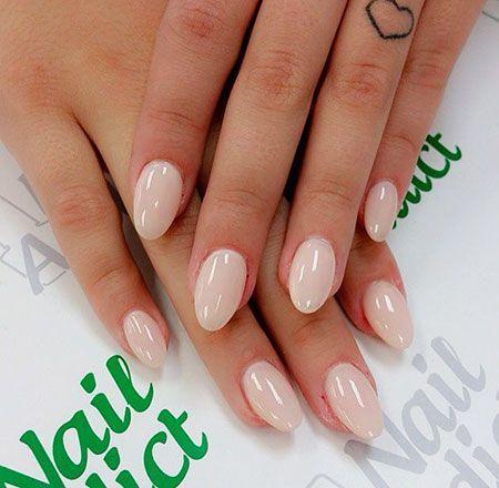 20 short oval nails - nail design & nail art ,  #art #Design #Nail #nails #Oval #ovalnail #Short