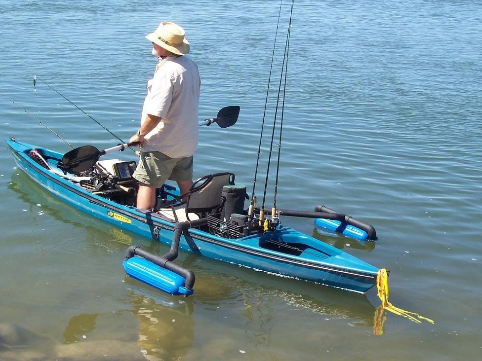 Best Kayak Stabilizers : Outrigger ideals a load off them some real easy to