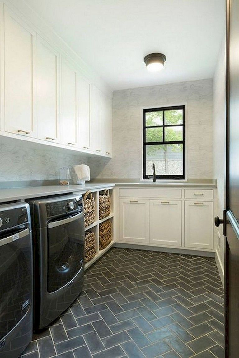 84+ Beautiful Laundry Room Tile Design Ideas Room tiles