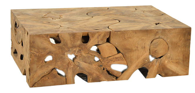 Teak Root Box Coffee Table on Chairish.com | Coffee table ...