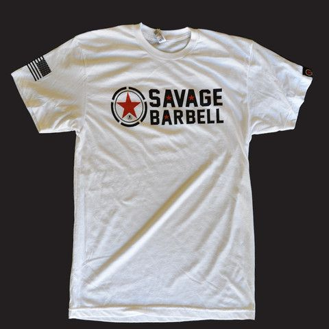 Classic White - Mens – Savage Barbell Apparel