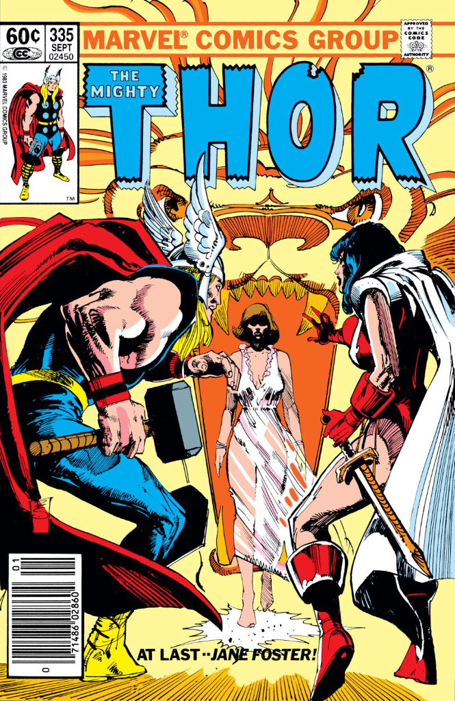 Thor No.335 (1983) - Cover by Bill Sienkiewicz
