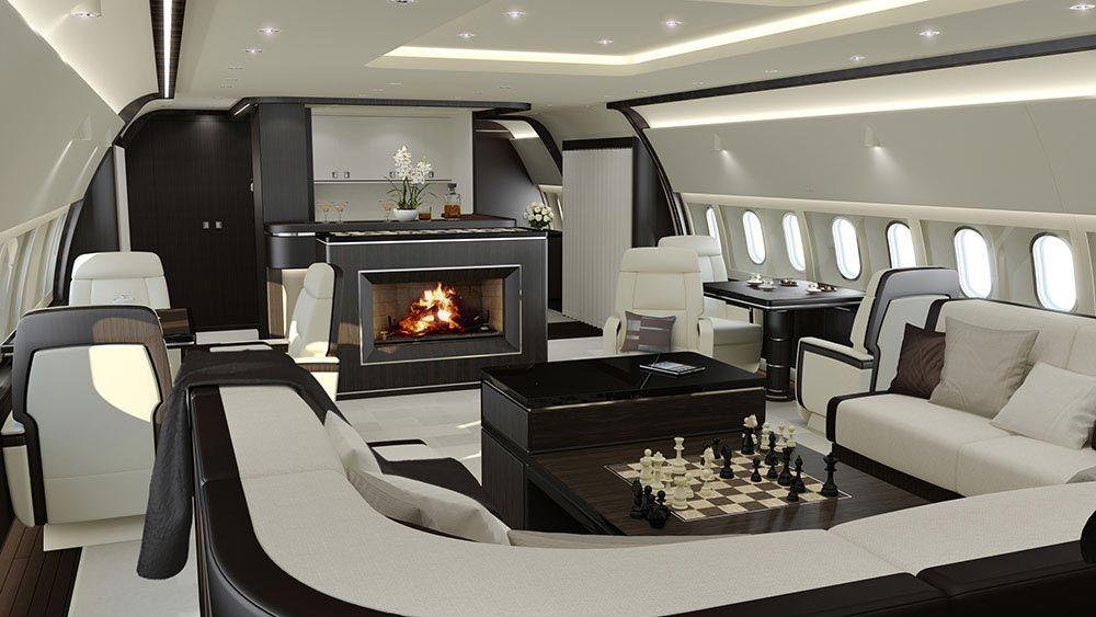 The Most Luxurious Private Jet Interior Designs Aviones Privados De Lujo Aviones De Lujo Interior Lujoso