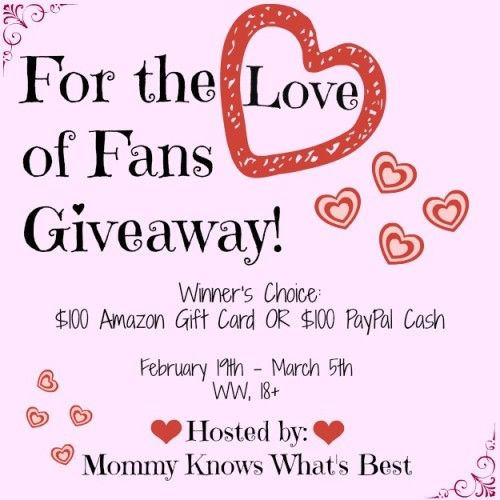 Blogger Opp: $100 Amazon Gift Card Or PayPal Cash Giveaway