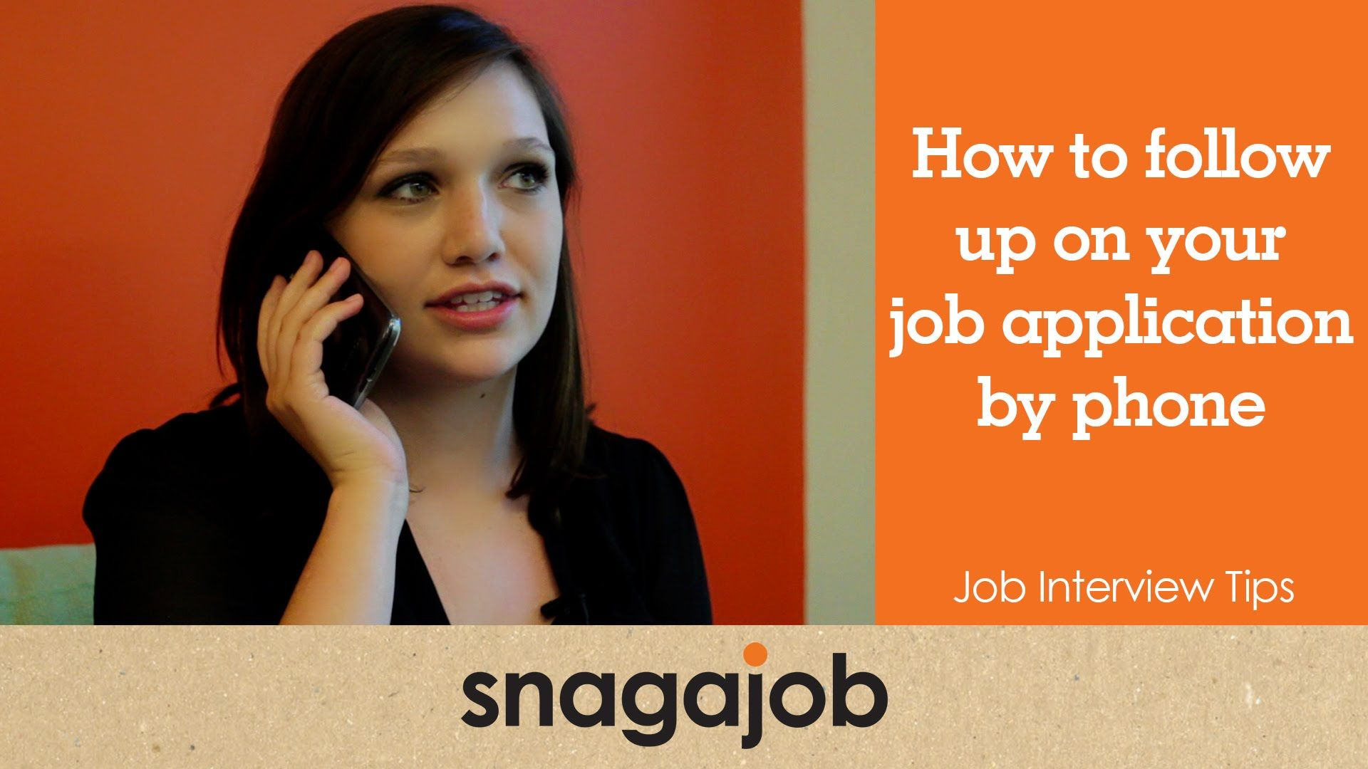 Job Interview Tips Part  How To Follow Up On Your Job