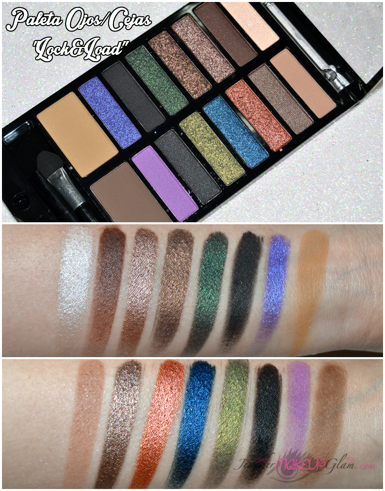 ♥ Jennifer Make Up Glam ♥: * NEW IN MAQUILLALIA (Haul+Review+Swatches): Make Up Revolution *