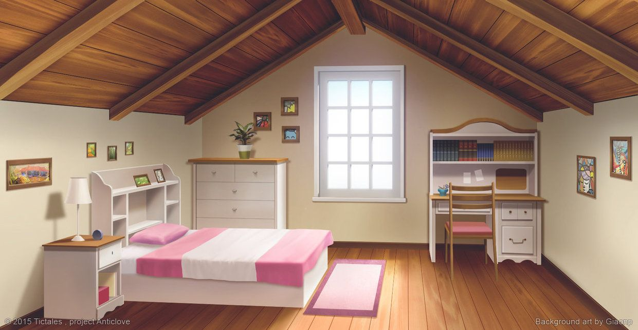 Best Heroine S Room Visual Novel Background By Giaonp 400 x 300