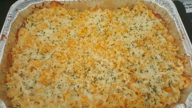 Baked Mac N Cheese (6 Cheese)
