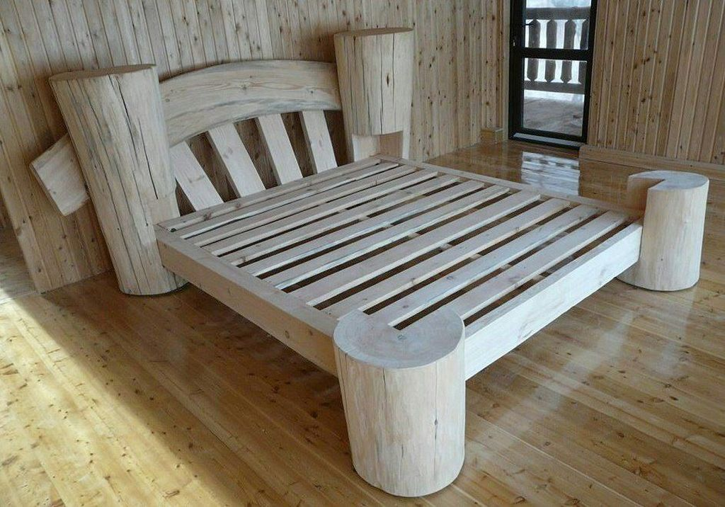 20+ DIY Rustic Pallet Bed Frame Deigns You Can Make Yourself | DIY ...