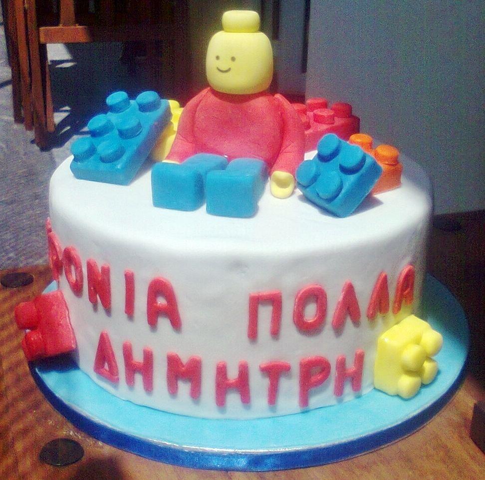 Lego cake :)
