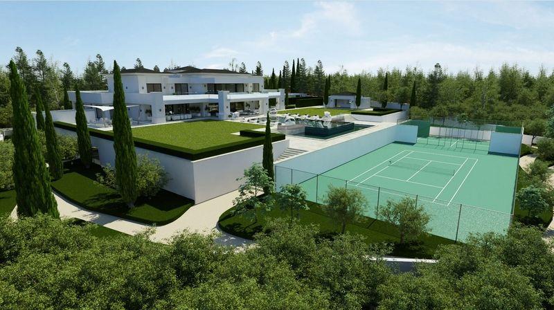Luxueuse Villa Contemporaine Espagnole Avec Tout Le Confort Moderne