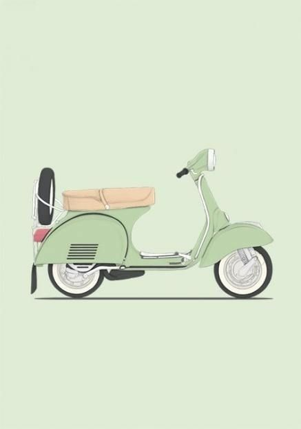 #cars #motorcycle #motorcycle #illustration  Trendy motorcycle illustration clas…