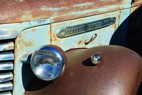 Gmc Truck Side Emblem Art Print By Jill Reger Trucks Buick Gmc Hood Ornaments