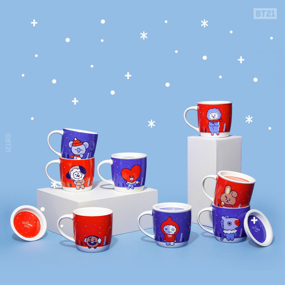 Bt21 Mark Your Calendars For The Year End Sale Mugs Line Friends Bts