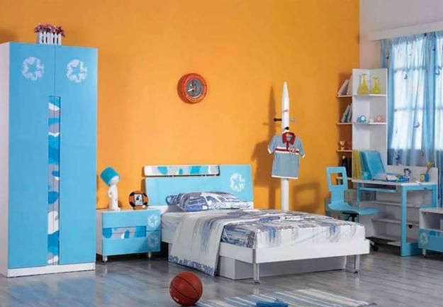 Peach Orange And Blue Color Schemes For Interior Design Inspired By Nature