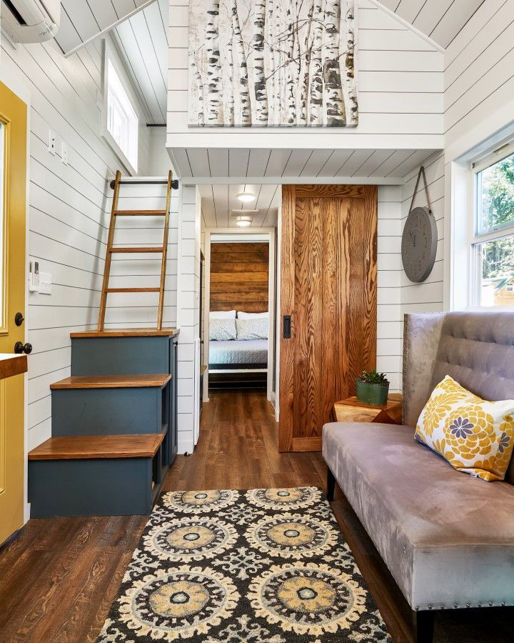 Cypress By Mustard Seed Tiny Homes Tiny Homes Pinterest Maison