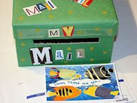 Shoe box crafts, Kids mailbox