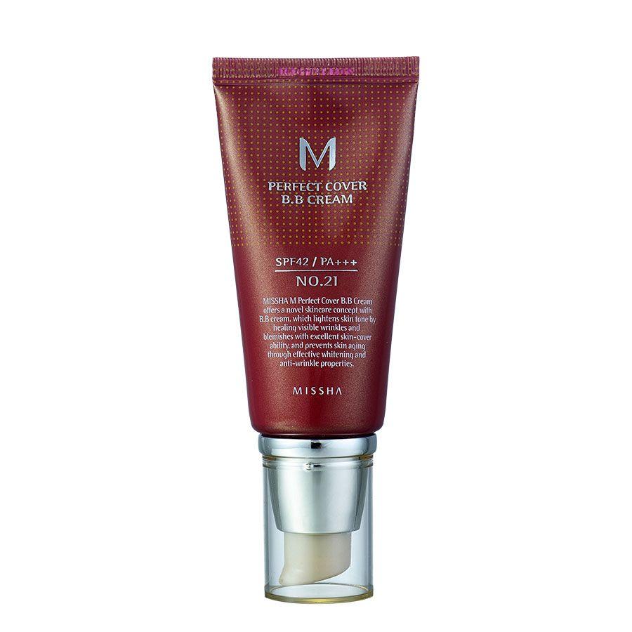 Missha M Perfect Cover BB Cream  Covers Blemishes u PostAcne Marks