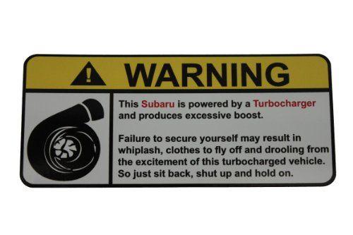 Subaru Turbocharged Engine Type I, warning decal, sticker... https://www.amazon.ca/dp/B00KVFYX6Q/ref=cm_sw_r_pi_dp_x_wNwkyb4888WYX